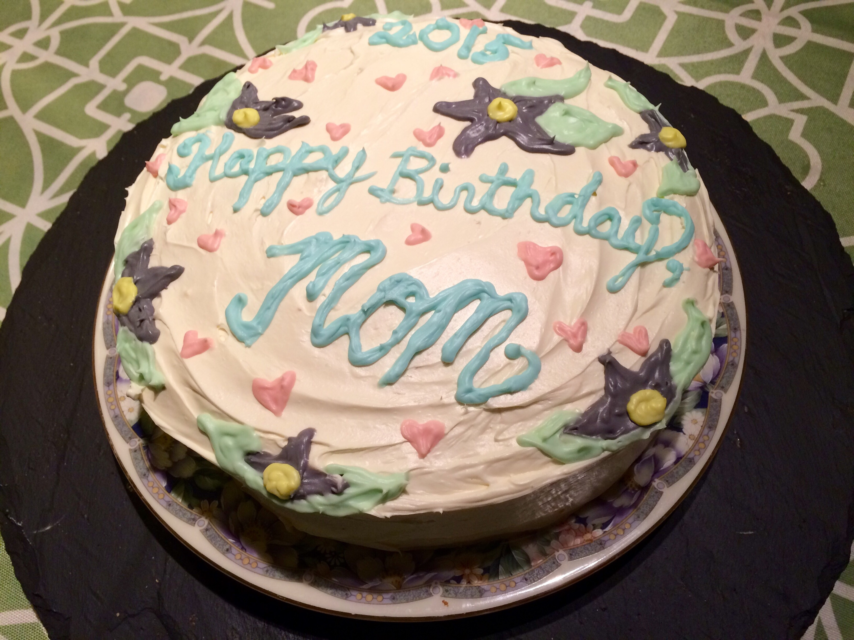 My Almond Birthday Cake Made With Love By My Children Smriti